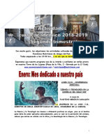 Segundo Trimestre 2018-19 Actividades Rsemap
