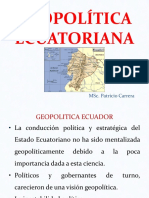Geopolitica Ecuador