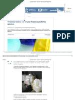 10 Normas Básicas a La Hora de Almacenar Productos Químicos
