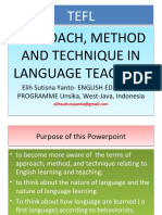 approachmethodandtechniqueinenglishteaching2014-140324011341-phpapp02