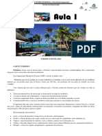 Apostila de Turismo e Hotelaria