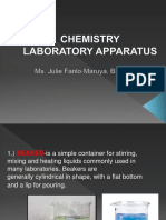 chemistry laboratory apparatus