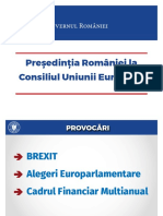 O Presedintie Si 10 Prioritati - QMagazine