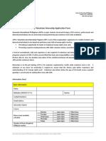 Volunteer Internship Application Form (April2015)