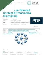 Posgrado en Branded Content y Transmedia Storytelling