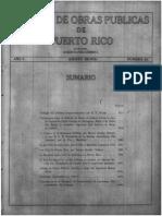 Revista Obras Publicas de Puerto Rico Agosto 1928,  con Henry George