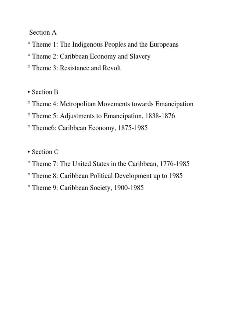 metropolitan movements towards emancipation