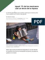 México Desigual