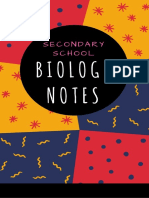 Secondary School Compiled Biology Notes.pdf
