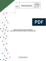 Manual de Cuentas 2018-2019 Versión 2