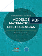 Modelos Matemáticos en las ciencias