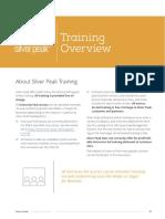 Silver Peak Training Brochure