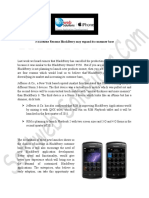 3 Excellent Reasons Blackberry May Expand Its Consumer Base