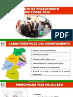 huancavelica proyectos 2018
