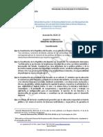 Codificacion Acuerdo 0224 13