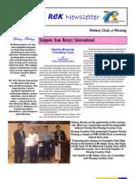 RCK Newsletter Volume 30 Issue 15