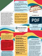 2019-2020 Info Brochure