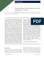 Faktor Yang Mempengaruhi Konsumsi Makanan