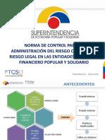 CONTROL DE RIESGO SUPERINTENDENCIA ECONOMIA POPULAR Y SOLIDARIA ECUADOR