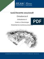 Guia Docente Ortodoncia II