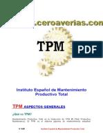 TPM - Mantenimiento Productivo Total.doc