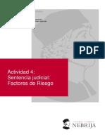 ACT 4. Factores de Riesgo