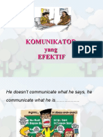 7. Komunikator Yang Efektif