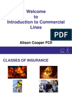 Intro to Commercial Lines 4 Modules July 2016 ACooper 1