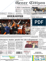 Greer Citizen E-Edition 1.9.19