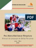 Manual de Lenguaje de Señas Peruanas