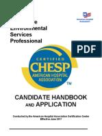 AHA CHESP Handbook