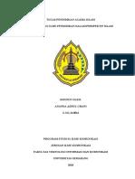 Tugas Uts Pendidikan Agama Islam 2