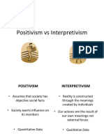 positivismvsinterpretivism-140326115457-phpapp01
