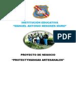PROYECTO PROTECTYMANGAS 2018