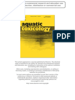 ibufrofen aquatic toxicology