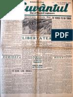Cuvantul anul XVII (serie noua) nr. 43, 25 noemvrie 1940