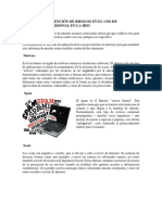 Balance y Prevención de Riesgos en El Uso de Información Personal en La Red