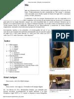 Historia Del Mueble - Wikipedia, La Enciclopedia Libre