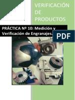 Practica Verificacion. Engranajes. 2019