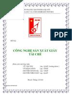 1. Tái chế giấy