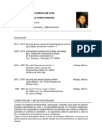 22 Curriculum Vitae Academico Azul