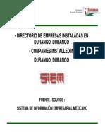 DIRECTORIO Siem