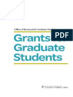 Grants for graduate students