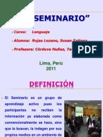 EL SEMINARIO.ppt