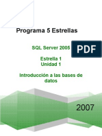 Unidad 1 Microsoft P5E SQL 2005 v1