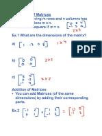 precalculus unit 1 matrices  2