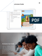 Swift Playgrounds Curriculum Guide