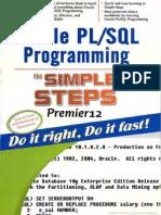 Oracle Pl_Sql Programming in Simple Steps