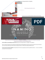 Como projetar o Naming perfeito [Guia + Infográfico]