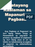Dokumen.tips Batayang Kaalaman Sa Mapanuring Pagbasa